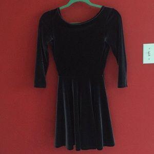American Apparel velvet dress, size s